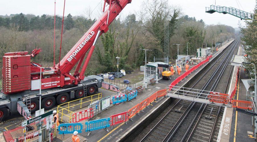 Work at Balcombe to tackle delay hotspots