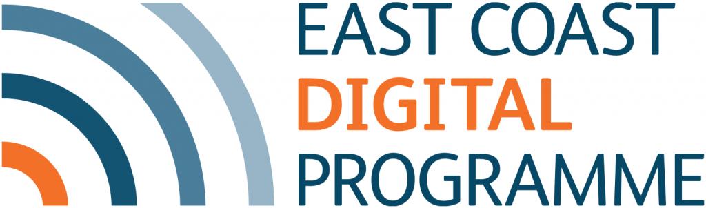 East Coast Digital Programme logo