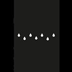 Track drainage icon